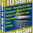 10 Easy Steps To Killer Web Copy eBook
