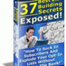 37 Best List Building Secrets Exposed eBook