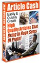 Article Cash eBook