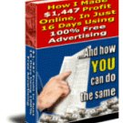 How I Made $1,447 Profit Online, In Just 16 Days Using 100% FREE