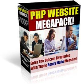 PHP WEBSITE SCRIPTS MEGAPACK!