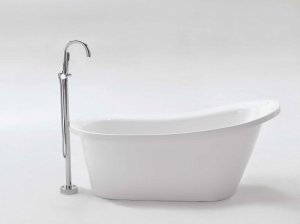 KENT FREE STANDING BATHTUB & FAUCET large bath tubs