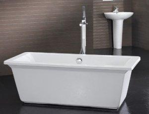 Zurich MODERN FREE STANDING ROMAN BATHTUB & FAUCET bathtubs bath tubs