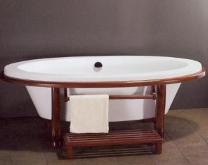 FUJI ASIAN INSPIRED FREE STANDING BATHTUB & FAUCET bathtubs large bath tubs