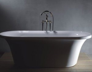 PETRA MODERN FREE STANDING BATHTUB WITH FAUCET bathtubs