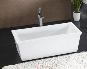 Minerva Free Standing Bathtub With Faucet