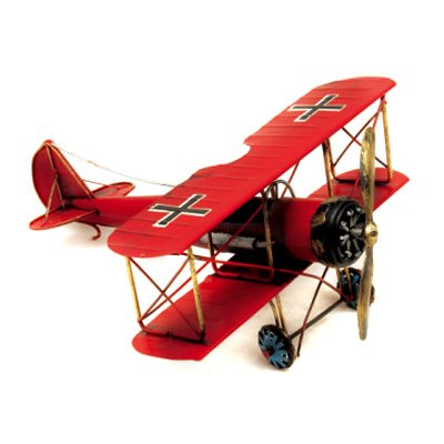 Red dragon biplane (WW1) - RWB-3002F (Prices in USD, Free Shipping)
