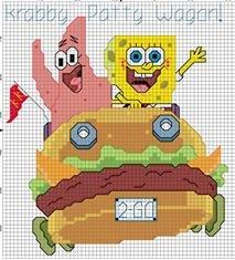 Spongebob & Patrick in Krabby Wagon