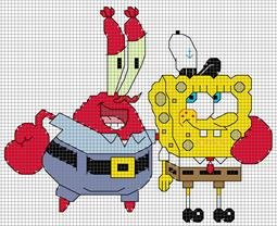 Mr. Krabs & Spongebob