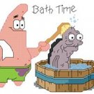 Bath Time with Old Man Jenkins