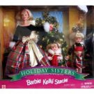 1998 HOLIDAY SISTERS Barbie Kelly Stacie