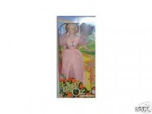 WIZARD OF OZ - GLINDA DOLL - WARNER BROTHERS 16 inches