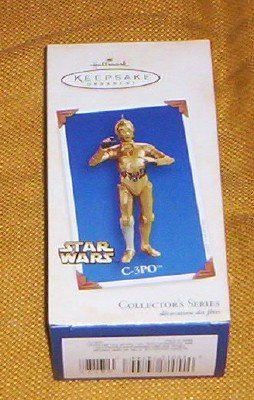 C 3PO STAR WARS HALLMARK ORNAMENT 2005