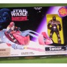 Star Wars Shadows of the Empire Swoop vehicle & Trooper