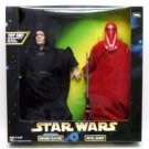 STAR WARS EMPEROR PALPATINE & ROYAL GUARD NIB 12 INCH