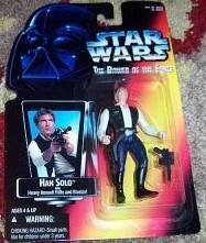 HAN SOLO WITH BLASTER RED CARD