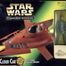 STAR WARS EXPANDED UNIVERSE CLOUD CAR EXC FIG