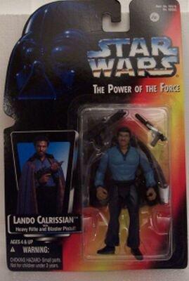 LANDO CALRISSIAN STAR WARS RED CARD NIB