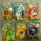 Burger King TELETUBBIES CLIP ONS, KEY CHAINS, ALL 1999