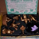 MCDONALDS DISNEY LITTLE MERMAID GOLD boxed SET  (A)