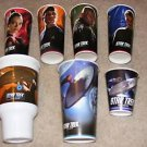 7 Burger King Star trek Promo cups NEW