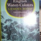 ENGLISH WATER COLOURS LAURENCE BINYON
