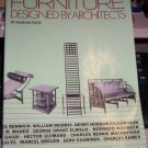 Furniture Designed by Architects by Marion Page (1984)
