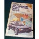 volkswagen front wheel drive, chilton's**1974-1983
