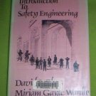 Introduction to Safety Engineering by David S. Gloss...