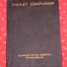POCKET COMPANION, ENGINEERS, ARCHITECTURES, BUILDERS