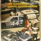 1988 OLDSMOBILE CHASSIS SERVICE MANUAL, TORONADO  LN