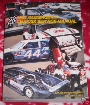 1988 OLDS CHASSIS SERVICE MANUAL, CUTLASS , CRUISER