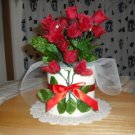 Dipped Scented TP Air Freshners, Fresh Cut Roses