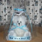 Dipped Scented Bear, Baby Powder 6 inch It's A Boy