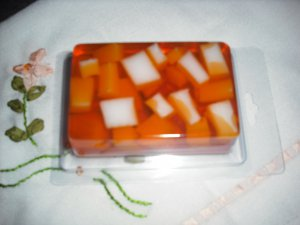Hand Made Rectangle Shaped Chunky Soap, Autumn Scent