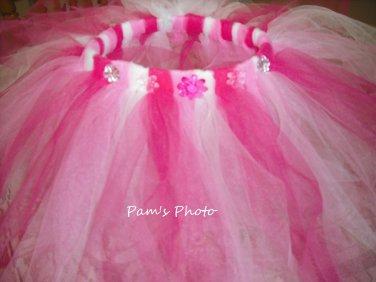 Hand Made TUTU Skirt,  3 Colors