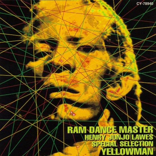 YELLOWMAN - RAM DANCE MASTER - HENRY JUNJO LAWES SPECIAL SELECTION - JAMAICA - REGGAE - CD