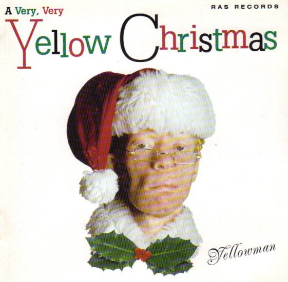 YELLOWMAN - A VERY VERY YELLOW CHRISTMAS - X-MAS - JAMAICA - REGGAE - CD