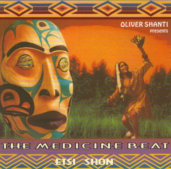 JERRY ALFRED & THE MEDICINE BEAT - ETSI SHON - NATIVE AMERICAN INDIAN - CANADA - CD