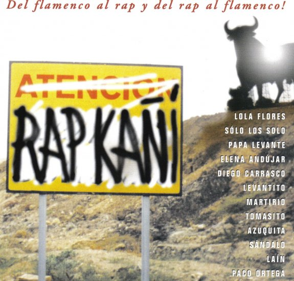 LOLA FLORES - TOMASITO - LAIN - SANDALO - SPAIN - FLAMENCO RAP - CD