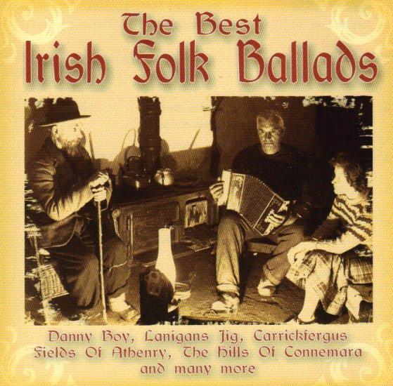 THE BEST IRISH FOLK BALLADS - VICTORY WALTZ - MAGGIE - DANNY BOY - IRELAND - CELTIC - CD