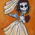 Dia De Los Muertos Bride - Art Print