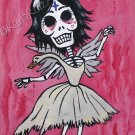 Day of the Dead: Bjork - Mini Art Print