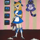 Adolescence of Alice - Art Print