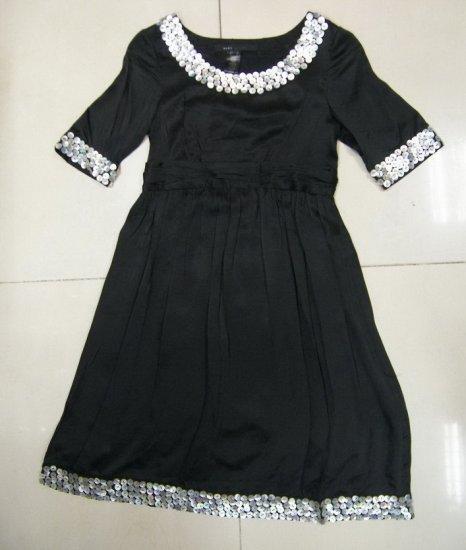 marc jacobs grace shell ornament  black dress S#