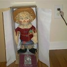 ASHTON DRAKE SCARECROW FELT DOLL NEW IN BOX!