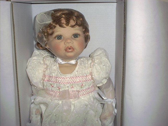 "Doll Maker Beverly Stoehr CARRISSA SILICONE DOLL #017/300 NIB 23"""