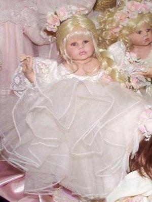 """Doll Maker MAY I DANCE FOR YOU 18"""" Porcelain NIB LE#073/200"""