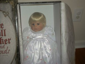 "Doll Maker MORNING DEW 22"" Vinyl Baby NIB LE#091/250!"