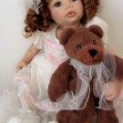 "Doll Maker CARRISSA 23"" Silicone Vinyl Baby NIB LE#092/300!"